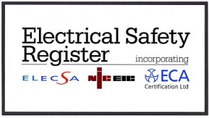 Electrical safety register small